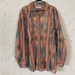 Other - Vintage Western Button Up